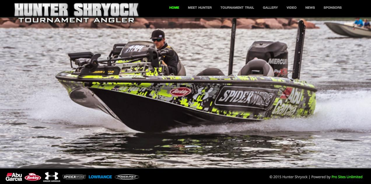 Hunter Shryock powered by Pro Sites Unlimited