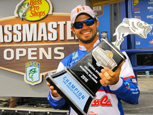 Skylar Hamilton Bassmaster Open Champion powered by Pro Sites Unlimited